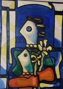 """""""Mujeres"""" by Amelia Pelaez Museo de Bellas Artes, Havana"""