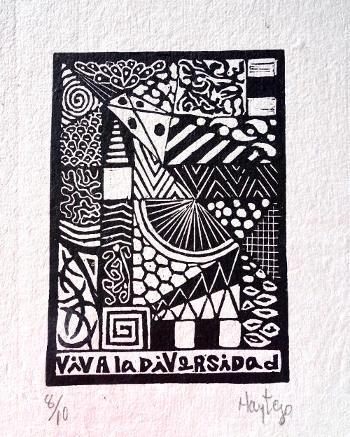 """Viva la Diversidad"" by María Teresa González, Havana, Cuba"